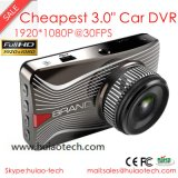 "Hot & Cheap 3.0 ""Full HD1080p carro câmera com lente 4G, 1 LED IR, 2.0mega Ov 2720 CMOS DVR-3003"