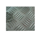 Motif de losange, Checkered feuille en aluminium