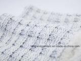 Акриловая серая Исланди-Пряжа & связанный Lambwool шарф шеи