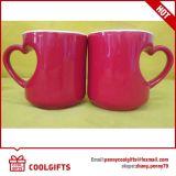 Новая керамическая кружки кофе установлен в форме сердца для подарков