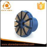 Malende Stop van de Diamant van het Metaal van het Systeem van de Stop van het segment de Concrete