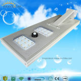 25W IP65 All-in-one Integrated Solar Street Light