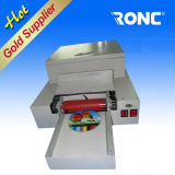 Glossy oil UV Coating Machine for CD DVD Disc