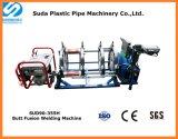 90-355mm hydraulische Kolben-Schmelzschweißen-Maschine für HDPE Rohr