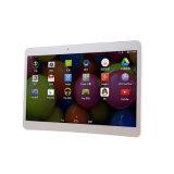 10 téléphone du dual core 3G de l'androïde 4.4 de pouce appelle la tablette avec la mémoire duelle des appareils-photo 1GB 16GB