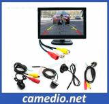Monitor de retrovisor LCD de 5 + Mini-câmara Backup de visão nocturna