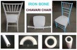 Белый металлический кости рамы полимера PP Кьявари событий обеденный стул
