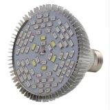 LEDは赤い軽い4W 60ビードを育てるまたは青い波水証拠LEDは電球を育てる