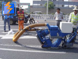 Non magnétique de sable de la plaque de plancher en acier inoxydable grenaillage de machines