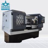 máquina de torno CNC con cama plana
