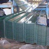 0.17mm Dx51d ont ridé la feuille en acier galvanisée de toiture de tôle d'acier