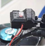 Het Laden van de Telefoon USB van de Cel van de motorfiets de Haven met Lichter, Waterdicht Stuur Cigret & Rearview Spiegel bevestigde de Klem van de Basis en de Staaf bevestigde Basis voor Mobiele GPS van de Telefoon