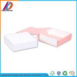 Boîte-cadeau de empaquetage de papier de luxe rose pliable faite sur commande d'Eco avec magnétique