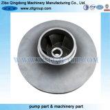 Pièce centrifuge 3X4-8 de pompe à eau de bâtis d'acier inoxydable