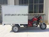 Triciclo cerrado para la entrega de alimentos