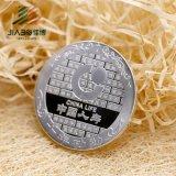 Сувенир монетки медальона сплава 3D цинка античной бронзы 2 '' изготовленный на заказ с эмалью