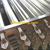 Recinzione d'acciaio commerciale galvanizzata australiana