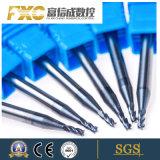 Fxc 4 flautas Carbide micro chave SSH Moinho Final