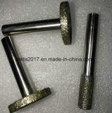 Qualitäts-Diamant CBN galvanisierte reibende Punkt-Bohrgeräte