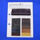 La PU artificial sintetizada grabada imita el cuero decorativo del zapato del bolso