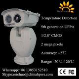 Câmera dupla da imagiologia térmica da deteção da temperatura do sensor