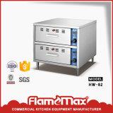 Hw-817 de commerciële Elektrische Showcase van het Verwarmingstoestel van het Voedsel van de Vertoning