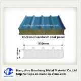 Панель сандвича Rockwool изоляции жары