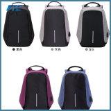 Sacs d'école de Travelwaterproof d'hommes de sac à dos de vol de charge d'USB anti