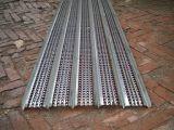 Pasarela de agarre de diamante/rejilla de acero del soporte de agarre de rejilla de seguridad