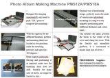 사진 인화지 카드에 의하여 박판으로 만들어진 물자는 결혼식 아기 사진첩 제작자를 기계 Pms18A를 만드는 그린다