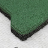 Переплетение резиновые плитки, для использования вне помещений взаимосвязанных резиновые плитки