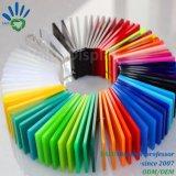 Plaque acrylique couleur en fonte d'administration
