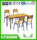 Vector de madera rectangular del estudio de los niños de la venta de los muebles calientes del cuarto de niños (SF-15C)