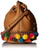 Manier Dame Handbag Bucket Bag Flower Handtas de PromotieHandtas van de Handtas van Dame Shoulder 2018 Ontwerp (WDL0519)