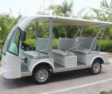 중국 공장은 세륨 증명서로 8개의 시트 전기 새로운 버스 Dn 8f를 공급한다