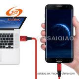 (5GB) 3.0type-c de Leer Gevlechte het Laden USB Kabel van Gegevens