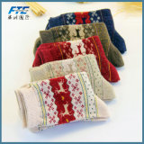 O inverno quente prendas de Natal Santa Claus meias de algodão