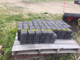 Granito gris claro de la piedra de pavimentación de la alta calidad