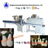 Swsf-590 krimpt de Automatische Hitte van de Flessen van de alcohol Verpakkende Machine