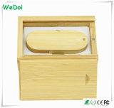 Azionamento di legno di vendita caldo dell'istantaneo del USB della parte girevole con una garanzia da 1 anno (WY-W11)
