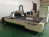 800W Metal CNC Fibras de aço de corte a laser 3015