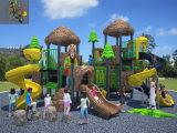 Kaiqi Media-fêz sob medida Outdoor temático Playground de Forest Children com Slides e More (KQ50006A)