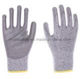Anti-Couper 5 gants de travail de sûreté enduits par paume d'unité centrale