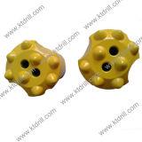 Hartmetall-gespitztes Felsen-Bohrgerät-Tasten-Bit für Granit 32mm 36mm 38mm