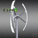 De lage Turbine van de Wind van de Snelheid van de Wind van het Begin 3kw Verticale