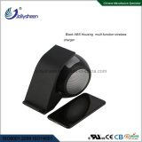 Bluetooth Speaker를 가진 새로운 Fashionable Intelligent Fast Dual Coils Wireless Charger