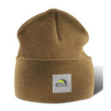 hecho personalizado tejido Jacquard tejidos Crochet Beanie Cap/Hat