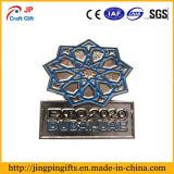 Divisa modificada para requisitos particulares del metal del modelo de flor de la alta calidad