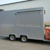 튀겨진 닭 맥주 식사 자동차 판매를 위한 이동할 수 있는 음식 트럭
