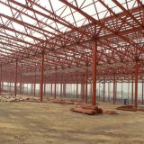現代デザイン長い生命鉄骨構造の倉庫